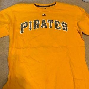 Pirates McCutchen #22 Yellow Jersey shirt